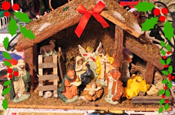 Christmas 2012+Norwegian Christmas+Norway+Christmas eve+ juleaften+juletre + crib + Bethlehem + Baby Jesus + Krybbe