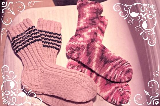 Christmas 2012+Norwegian Christmas+Norway+Christmas eve+ juleaften+juletre + nitted socks + strikkede sokker