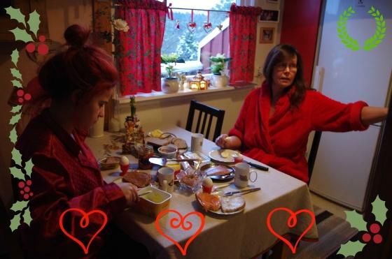 Christmas 2012+Norwegian Christmas+Norway+Christmas eve+ juleaften+juletre+Breakfast