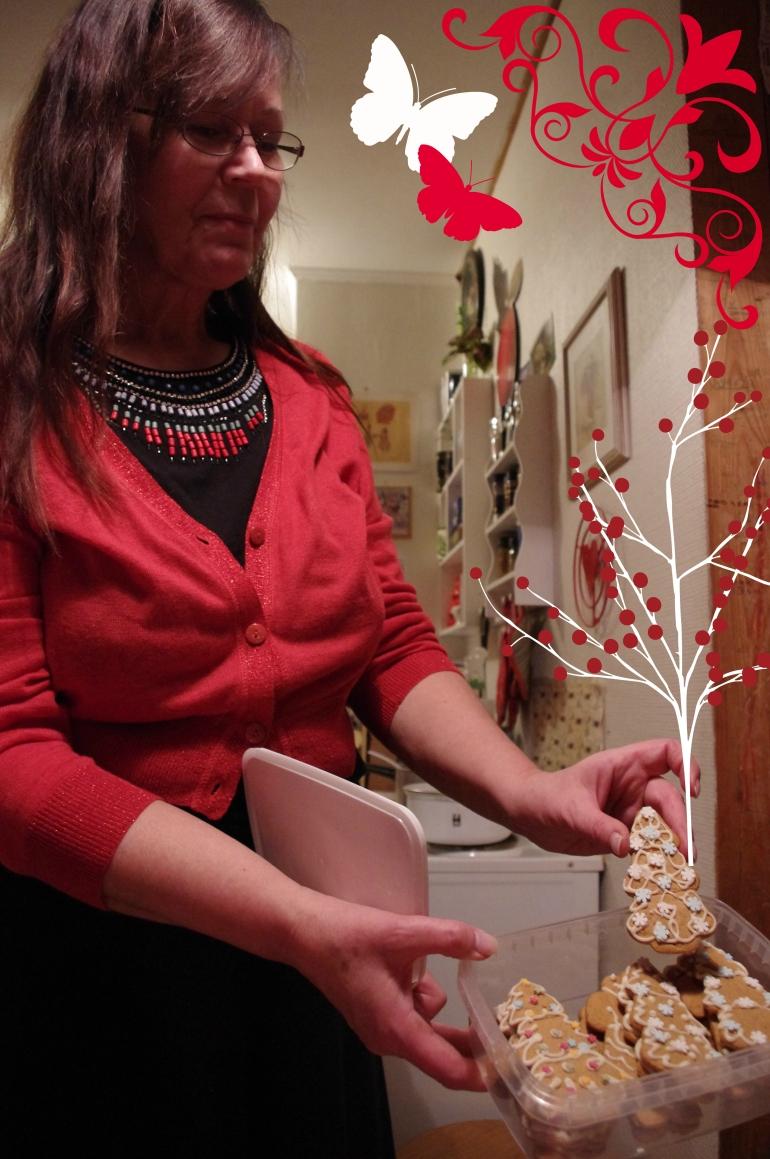 Christmas 2012+Norwegian Christmas+Norway+Christmas eve+ juleaften+juletre+Gingerbread+ Pepperkaker