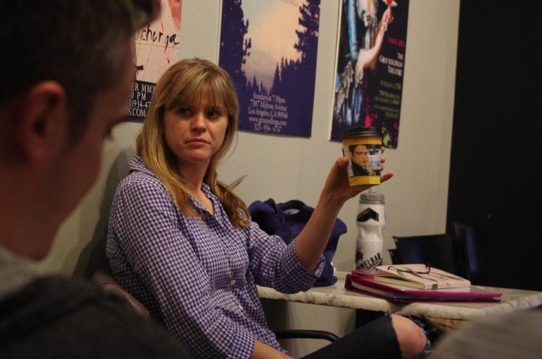 Class at The Groundlings BASIC LEVEL Improvisation Hollywood Liz Bolton Teacher actress