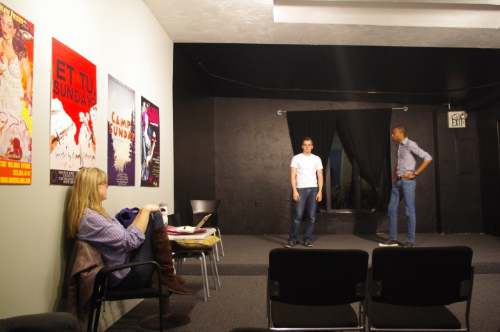 Class at The Groundlings BASIC LEVEL Improvisation Hollywood Liz Bolton Stage