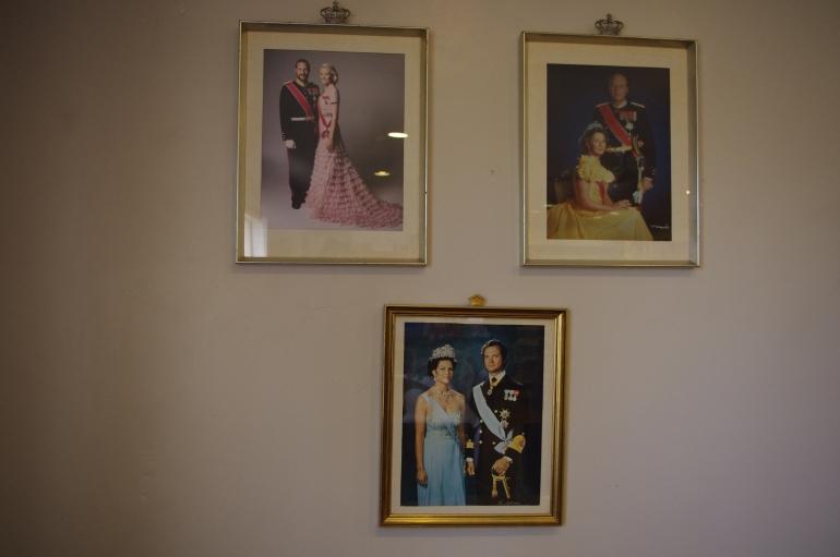 Norwegian Church Los Angeles - Sjømannskirken - California - San Pedro - kirkekaffe - coffee - norwegian royalty - Prinks Haakon Prinsesse Mette-Marit
