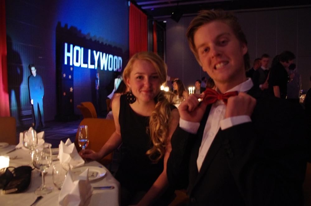 Quality hotel og resort Sarpsborg-julebord -resepsjonist sjef + Oscars 2012 + Phillip Bøckmann + Annette Elverum