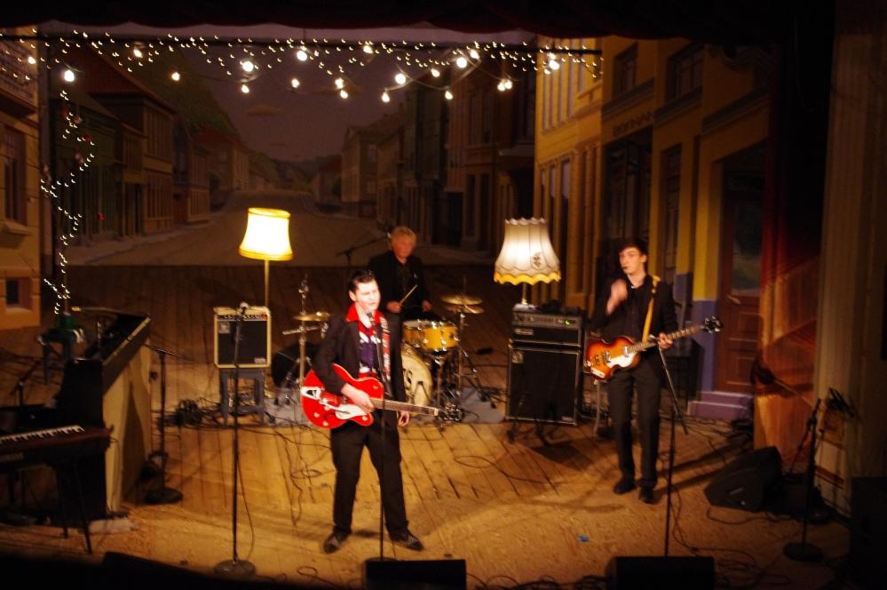 unge folk i Halden 2012 + Fredrikshald Teater + Diesen + Rockabilly Rebels
