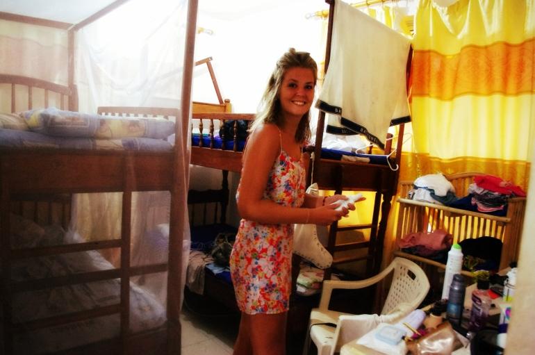i-to-i volunteering Kenya Africa Mombasa Mosquito nets travel