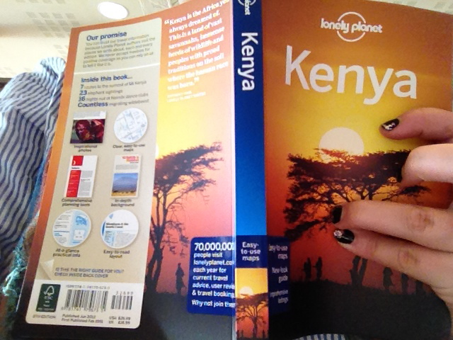 Kenya Lonely Planet Guide Africa Book Travel