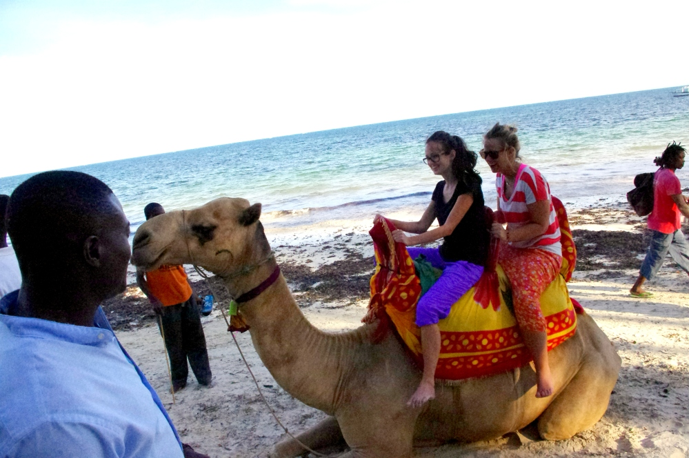 Kenya, Mombasa, Beach, Whitesands, Camel, Camel Ride, AFrica, Volunteer, i-to-i