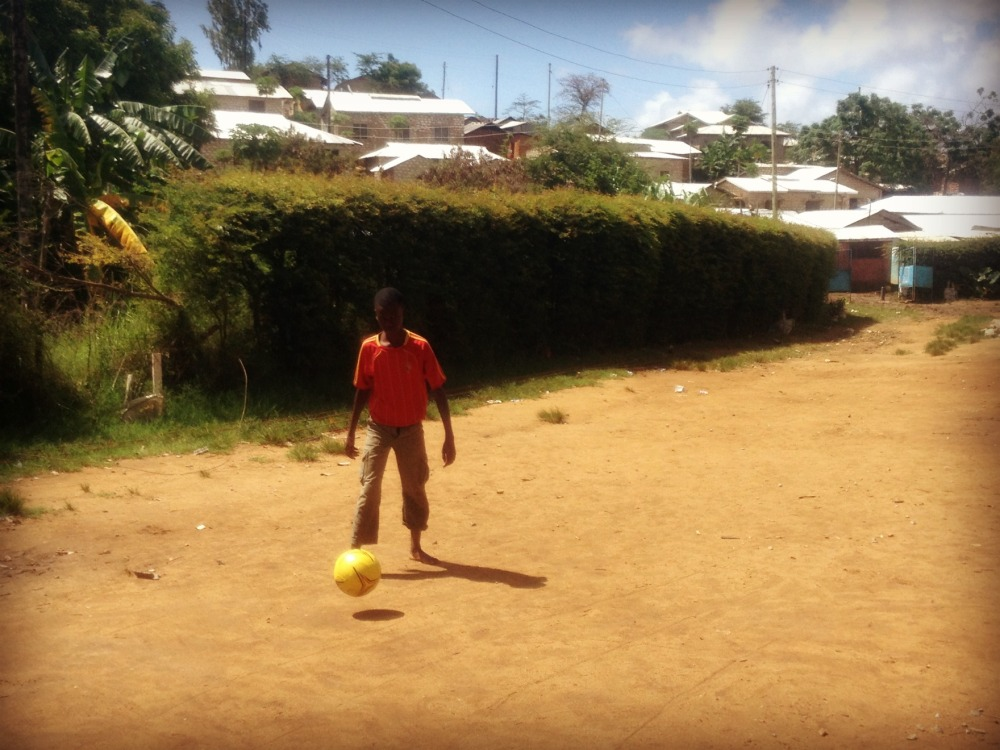 New Hope Academy Volunteer football Kenya Mombasa Africa Children