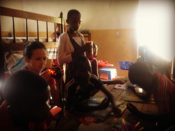 New Hope Volunteering Girls dormitory games children Africa Kenya