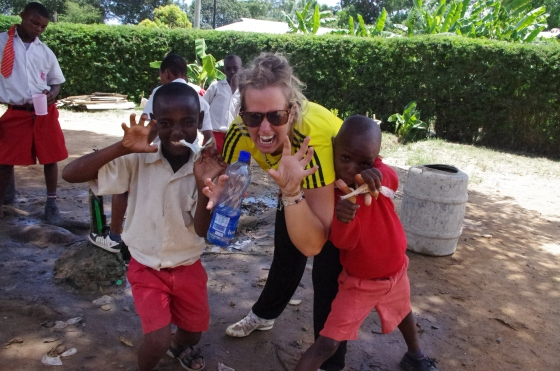 i-to-i New Hope academy Mshmoroni children Mombasa