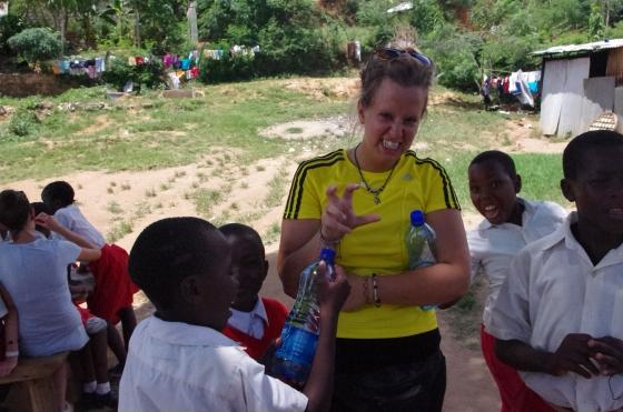 i-to-i volunteering New Hope academy Mshmoroni