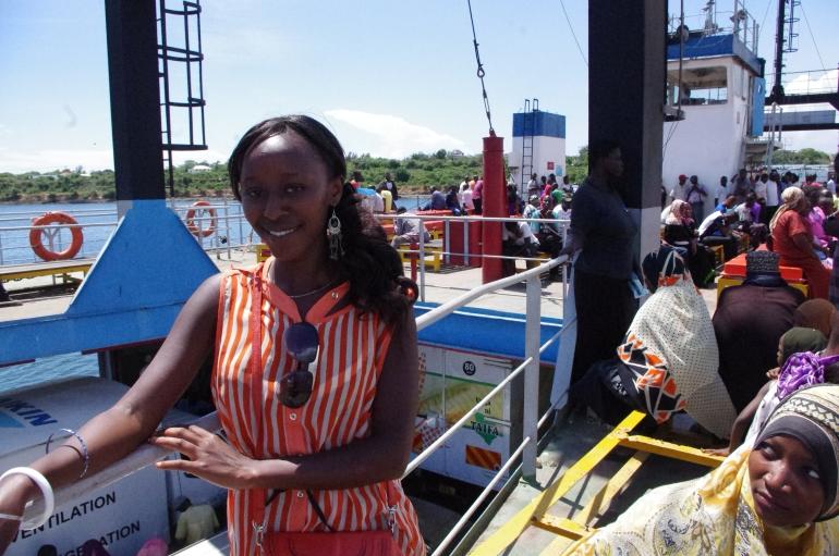 Ferry Kenya Mombasa Africa