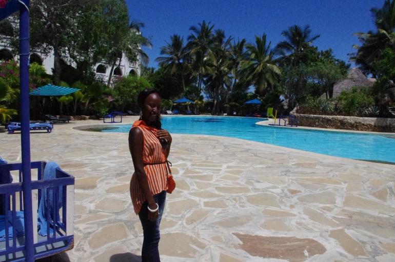 Diani Beach Khazkasi hotel pool