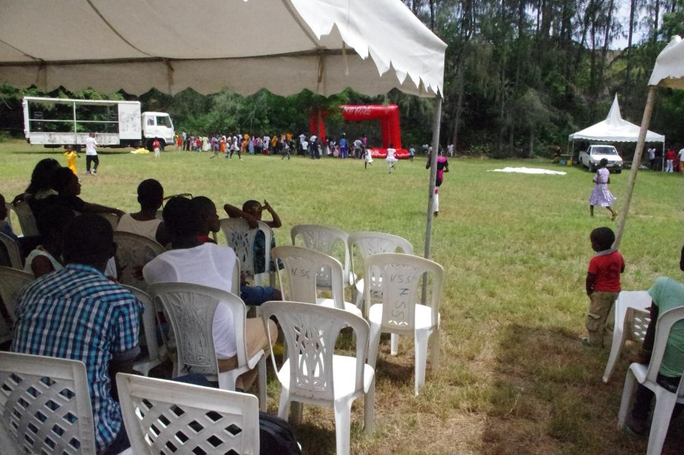 2013 Kenya Mombasa Butterfly pavilion Orphanage Kensalt function