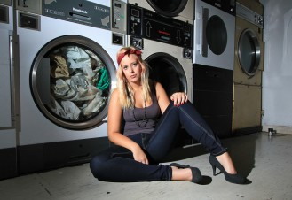 Laundrette Photo shoot
