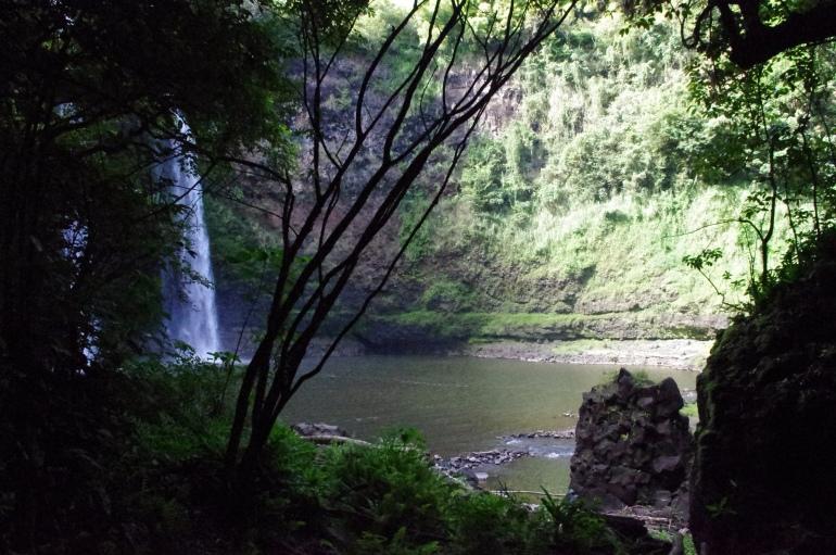 Wailua - KAuai - Hawaii - Waterfall - View- Wailua falls - hike