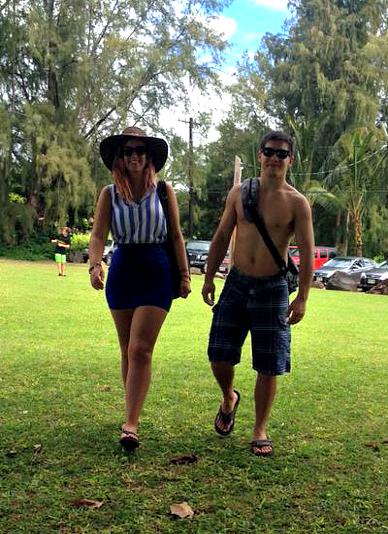 KAUAI - north shore - Anini beach park - Hawaii - Honeymoon