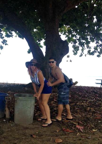 KAUAI - north shore - Anini beach park - Hawaii