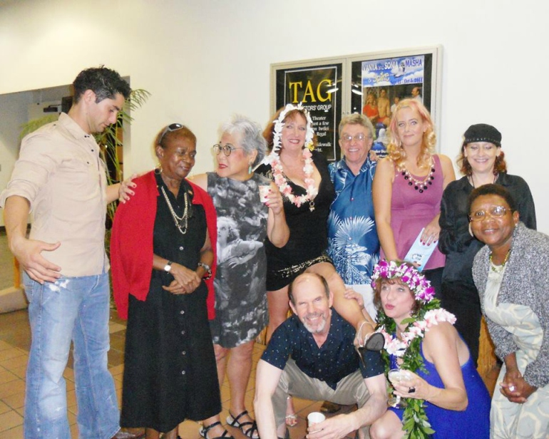Vanya and Sonia and Masha and Spike - TAG - Hawaii - The Brad Powell theater Cast and crew