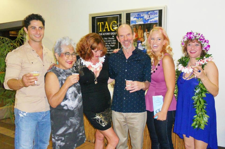 Vanya and Sonia and Masha and Spike - TAG - Hawaii - The Brad Powell theater Cast photo