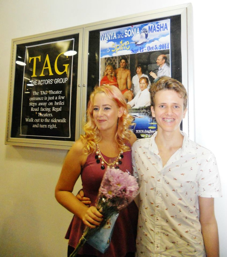 Vanya and Sonia and Masha and Spike - TAG - Hawaii - The Brad Powell theater Opening night Nina