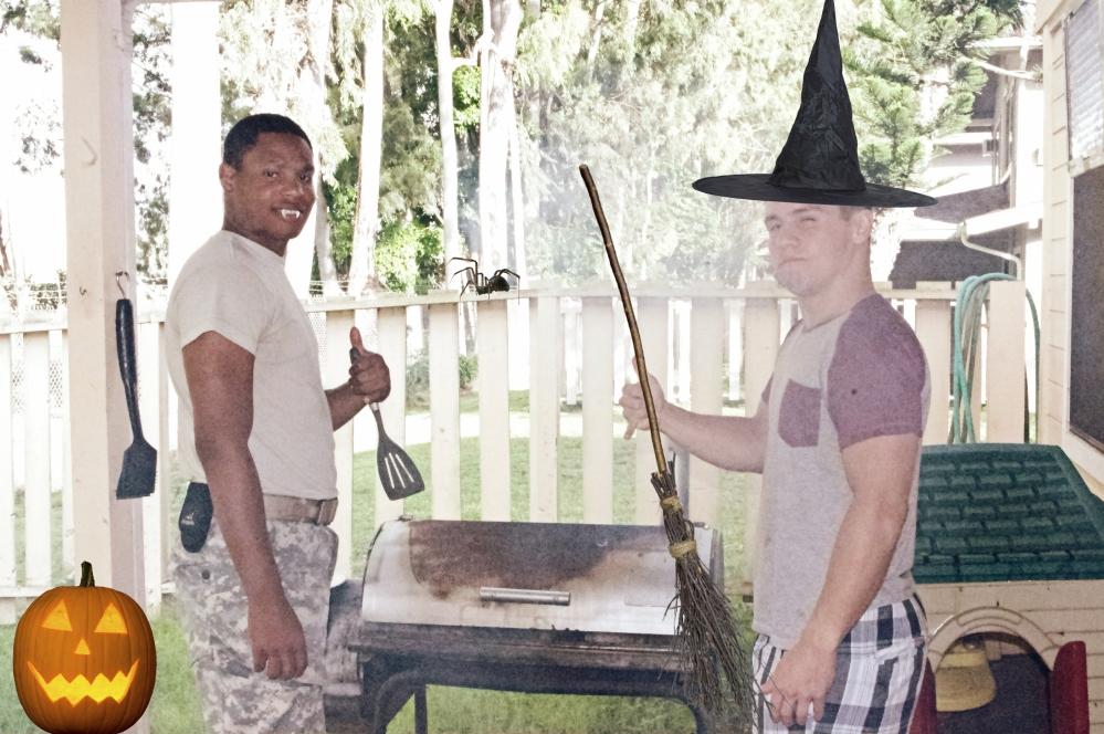 Halloween in Hawaii - 2014 - BBQ