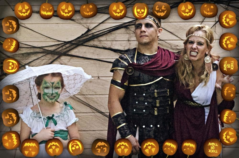 Halloween in Hawaii - 2014 - Family - Jack o' lanterns - pumpkins