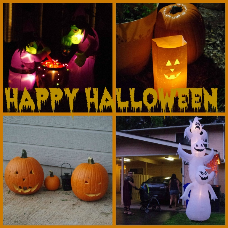 Halloween in Hawaii 2014 - Pumpkins - Costumes - 300 - Spartan costume - Jack O' Lanterns - Decorations