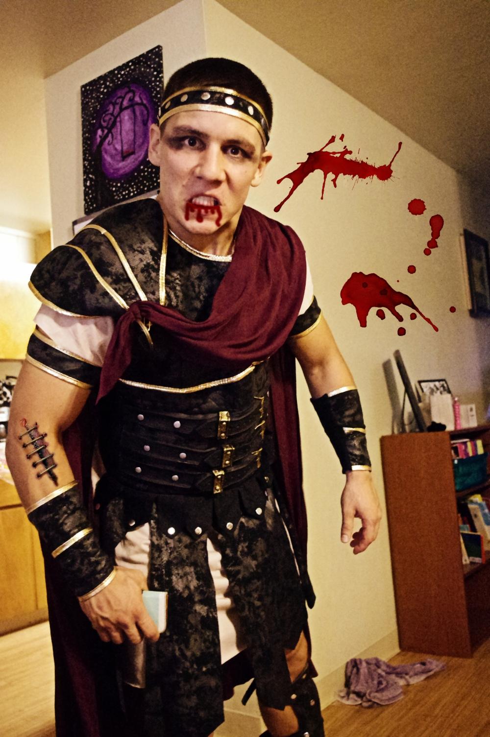 Halloween in Hawaii - 2014 - Spartan - 300 - Sparta - Blood