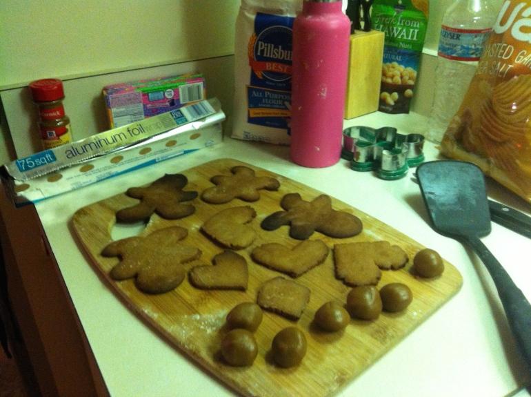 Gingerbread cookies, pepperkakemenn