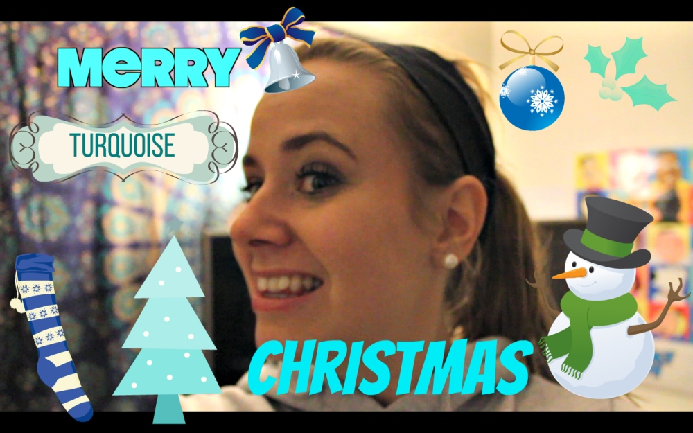 Merry Christmas - turquoise - Costco Haul - Hard Rock Cafe haul - Rat - Vlogmas 2015