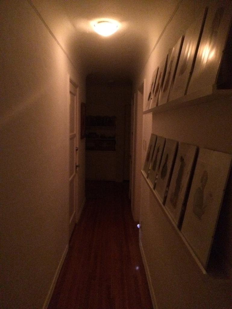 Inspiring homes - Hallway - framed photos