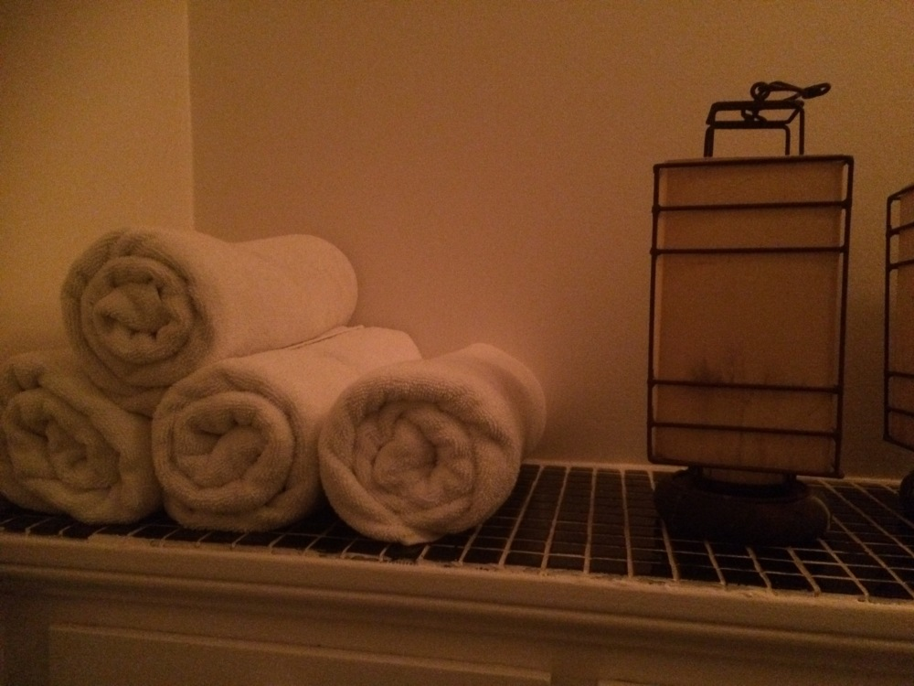 Inspiring homes - Bathroom - Towels - Rolled