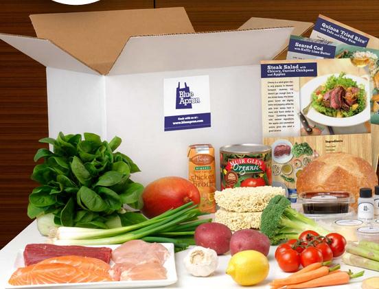Blue Apron Food subscription review Jasmin Please Blog