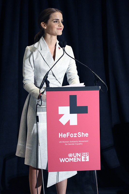 resize Emma Watson He for she speech outfit Hermione Feminism