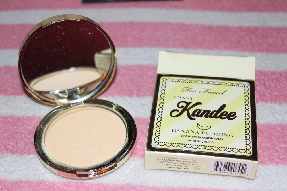 Banana Pudding Face Powder - Kandee Johnson Makeup Review Two Faced I want Kandee 2017