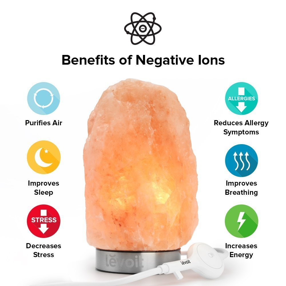 Salt Lamp Benefits Sinus : Himalayan Salt Rock Lamp Levoit Jasmin Please