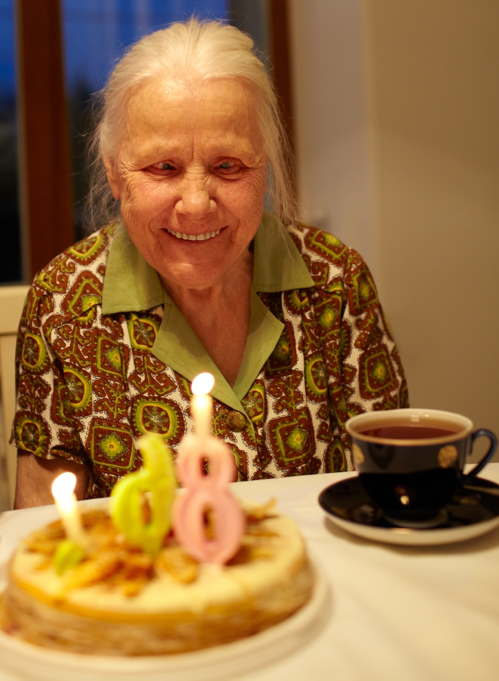 Grandmother's 86th birthday.