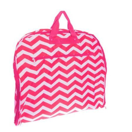 womens-pink-and-white-chevron-print-40-hanging-garment-bag-w-trim_4842429